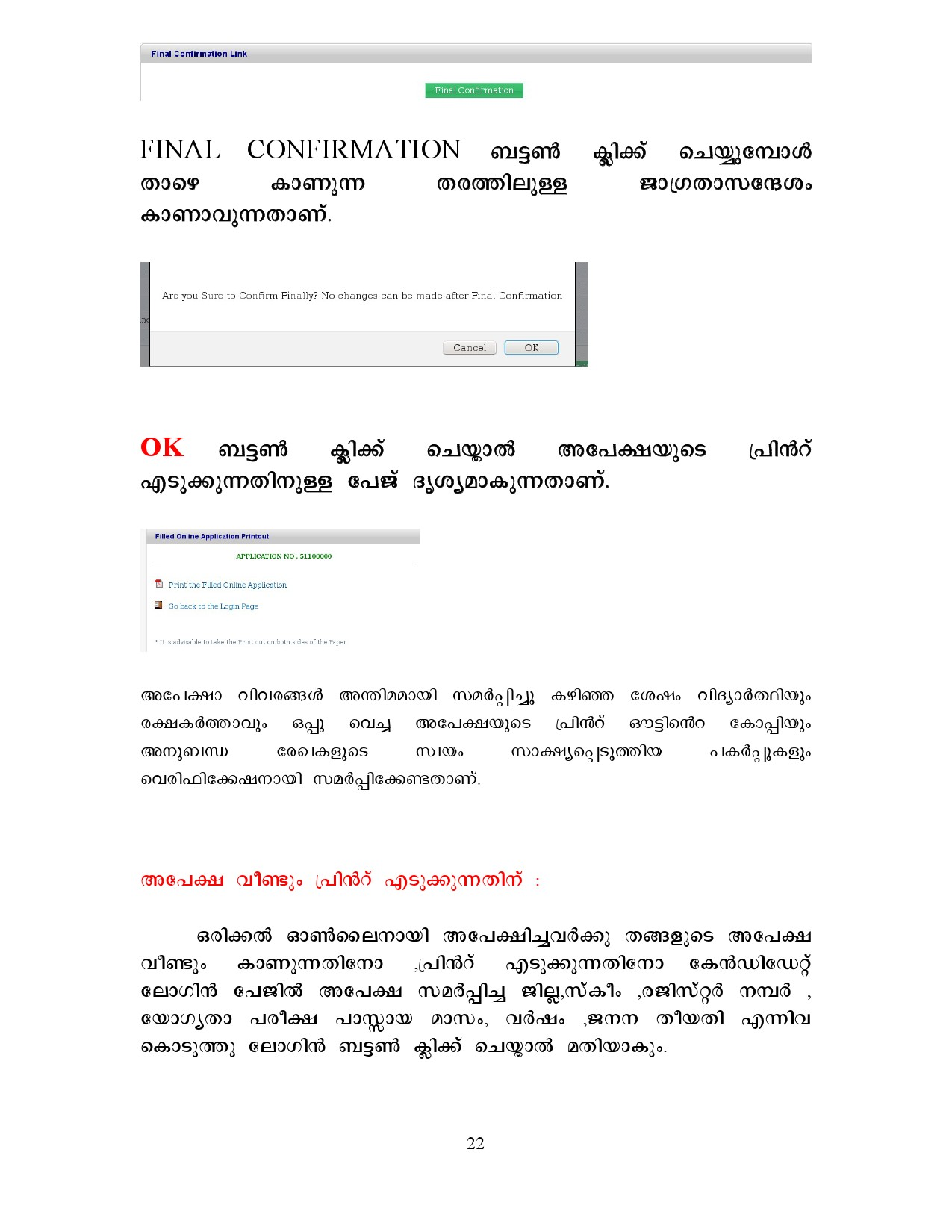 22 Job Application Form Format In Malayalam on